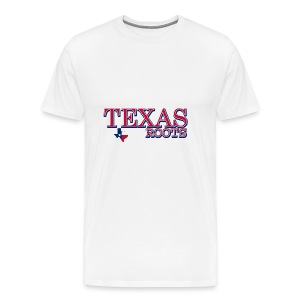texas roots image - Men's Premium T-Shirt