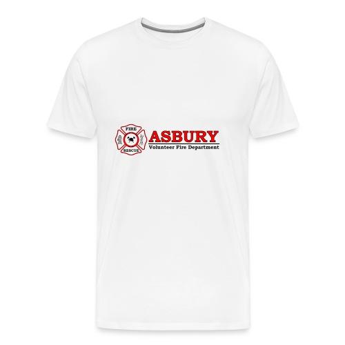 AsburyVFD Logo - Men's Premium T-Shirt