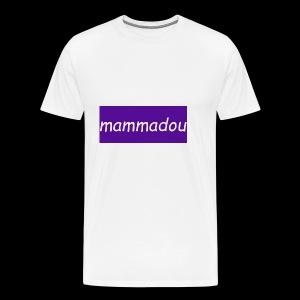 mammadou t-shirt desine - Men's Premium T-Shirt