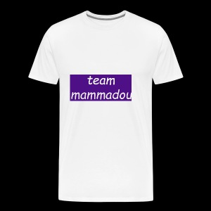 team mammadou! - Men's Premium T-Shirt