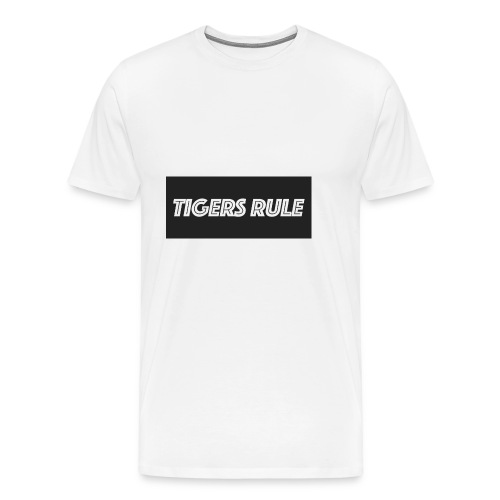 TIGERS RULE - Men's Premium T-Shirt