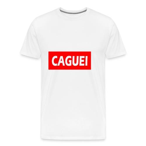 CAGUEI VERMELHO - Men's Premium T-Shirt