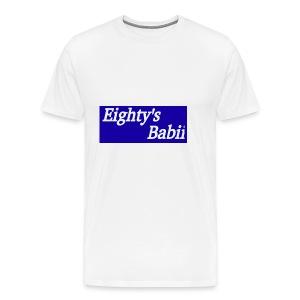 Blueboxlogo80sbabii - Men's Premium T-Shirt