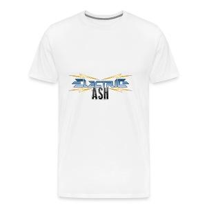 Electric Ash Logo - Main - Transparent Background - Men's Premium T-Shirt