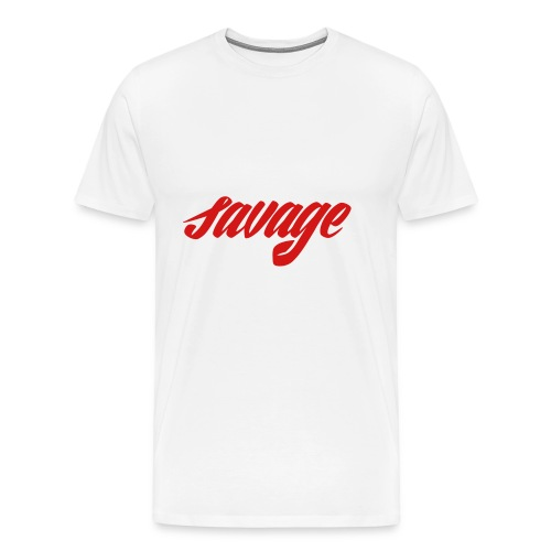 savage dude - Men's Premium T-Shirt