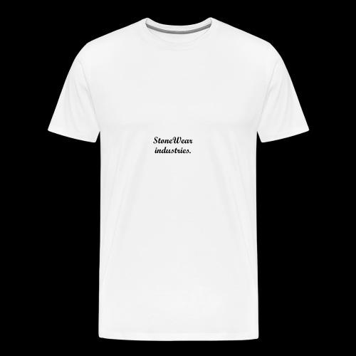 StoneWear industries. - Men's Premium T-Shirt