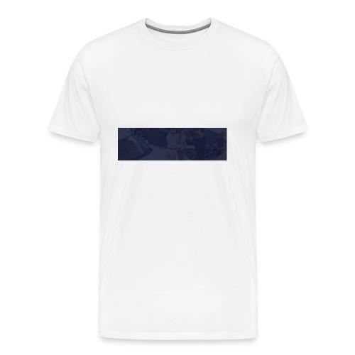 footer bg - Men's Premium T-Shirt