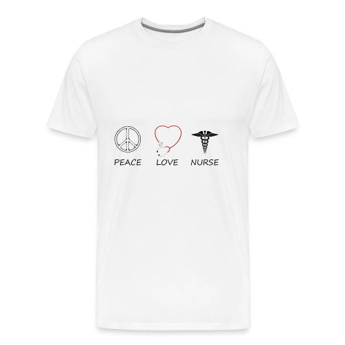 peace love42 - Men's Premium T-Shirt