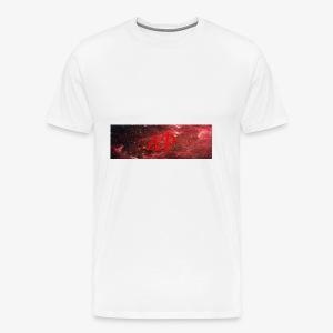 Almost Pro (Red Galaxy) - Men's Premium T-Shirt