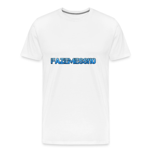 FaZeMessi10 Merch - Men's Premium T-Shirt