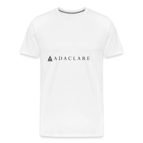 New Adaclare Logo - Men's Premium T-Shirt