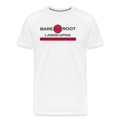 Bare Root Logo- Black - Men's Premium T-Shirt