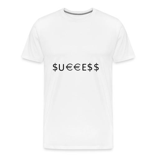 Money is Success. Success is Money - Men's Premium T-Shirt
