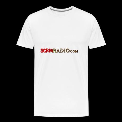 SCRM Radio Logo - Men's Premium T-Shirt