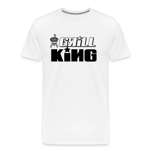 grill king of the grill - Men's Premium T-Shirt