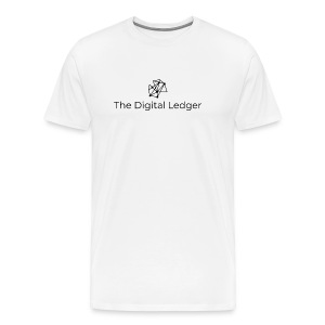 The Digital Ledger logo Black - Men's Premium T-Shirt