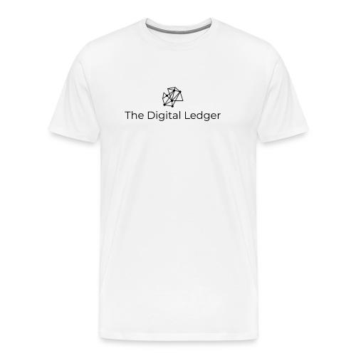 The Digital Ledger logo Black - Men's Premium T-Shirt