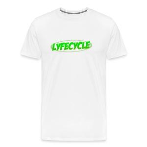 LYFECYCLE RETRO LOGO - Men's Premium T-Shirt