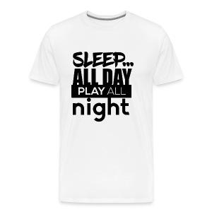 TML - Sleep All day - Men's Premium T-Shirt