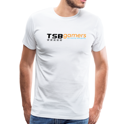 TSB Black Website Logo FullColor - Men's Premium T-Shirt