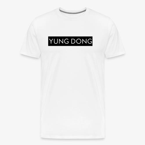Yung Dong Box Logo - Men's Premium T-Shirt