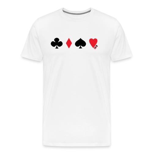 RKHB Card Suits - Men's Premium T-Shirt