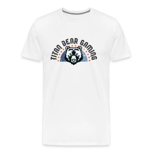 Titan Bear Gaming Basic Logo - Men's Premium T-Shirt