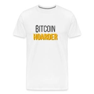 BTC Hoarder (Light) - Men's Premium T-Shirt