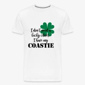 Lucky Clover Coastie - Men's Premium T-Shirt