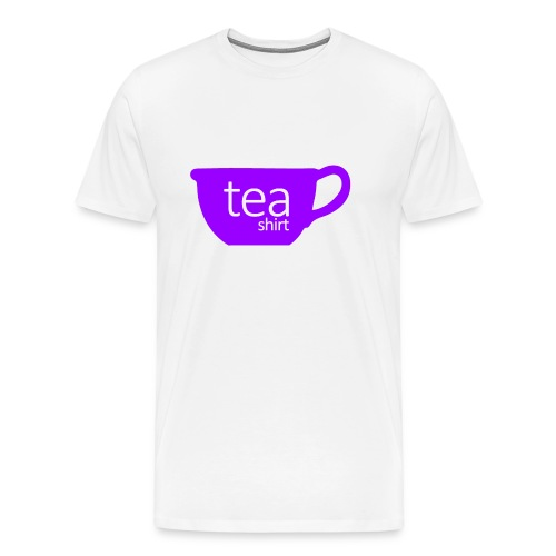 Tea Shirt Simple But Purple - Men's Premium T-Shirt