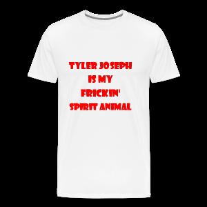 Tyler Joseph Is My Frickin' Spirit Animal - Men's Premium T-Shirt