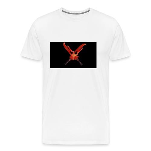 Hipixel Warlords Cross-Swords - Men's Premium T-Shirt