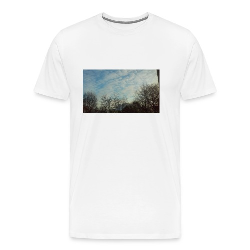 jersery winter sky - Men's Premium T-Shirt
