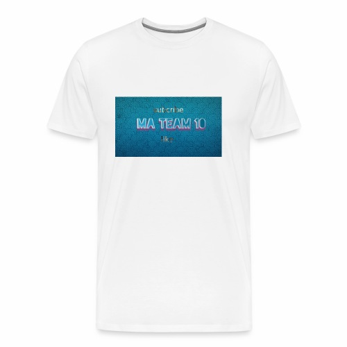 My ma team 10 logo - Men's Premium T-Shirt