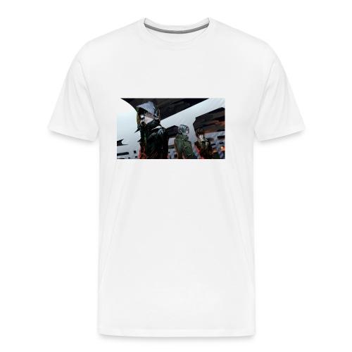 tokyo ghoul kaneki ken guys art 99764 2560x1440 - Men's Premium T-Shirt