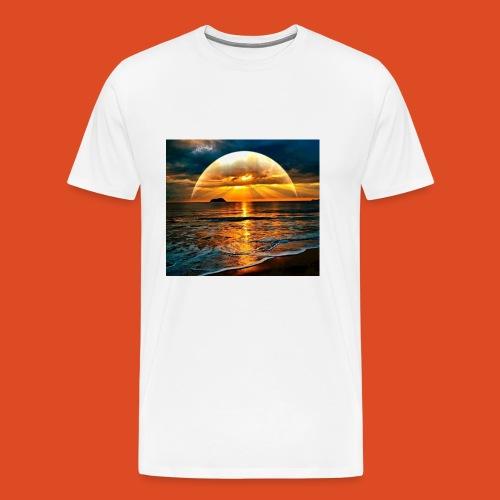 sunrise of the gamers - Men's Premium T-Shirt