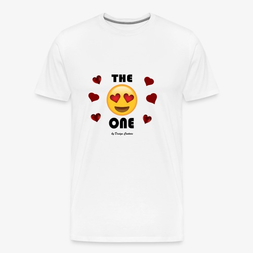 THE ONE BLACK - Men's Premium T-Shirt