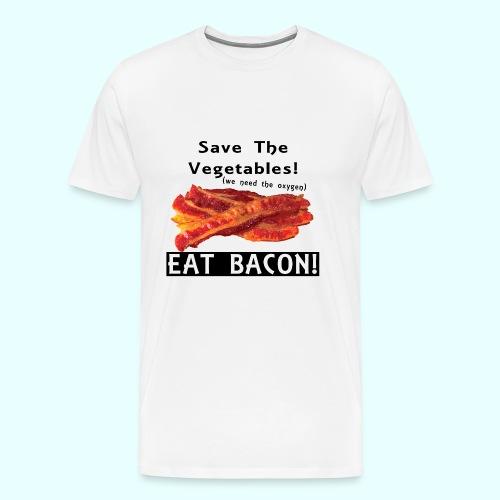 Eat Bacon! - Men's Premium T-Shirt