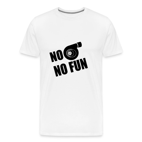 No Turbo No Fun - Men's Premium T-Shirt