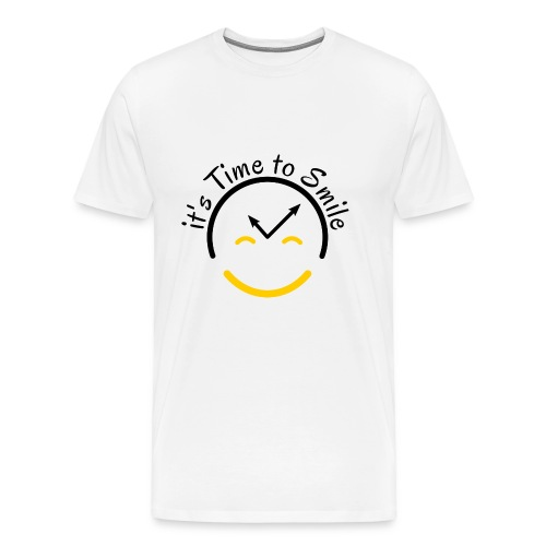 It s Time to Smile - Men's Premium T-Shirt