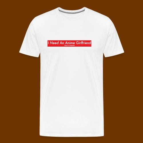 Anime Girlfriend - Men's Premium T-Shirt