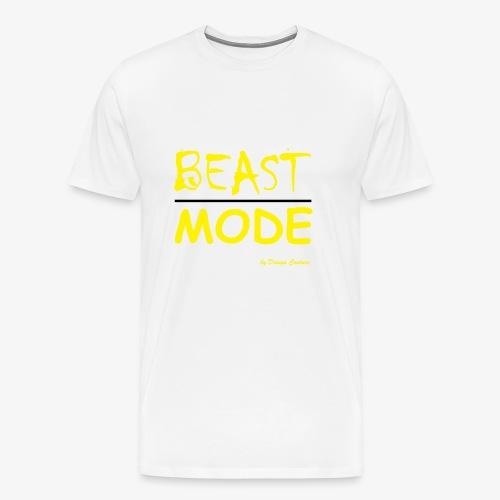 MODE, BEAST-YELLOW - Men's Premium T-Shirt