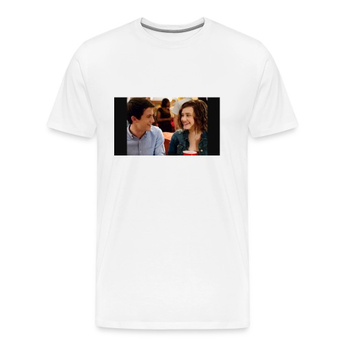 Clay and Hannah together - Men's Premium T-Shirt