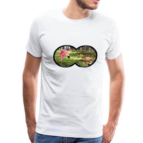 Fly Agaric Flamingo - Men's Premium T-Shirt