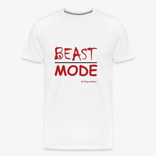 MODE, BEAST-RED - Men's Premium T-Shirt