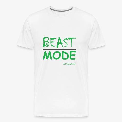MODE, BEAST-GREEN - Men's Premium T-Shirt