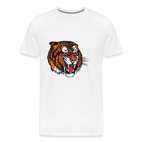 the beast tiger - Men's Premium T-Shirt
