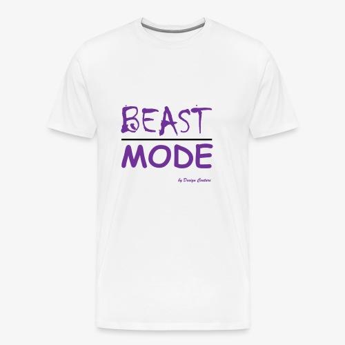 MODE, BEAST-PURPLE - Men's Premium T-Shirt
