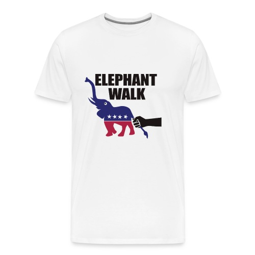 Elephant Walk - Men's Premium T-Shirt