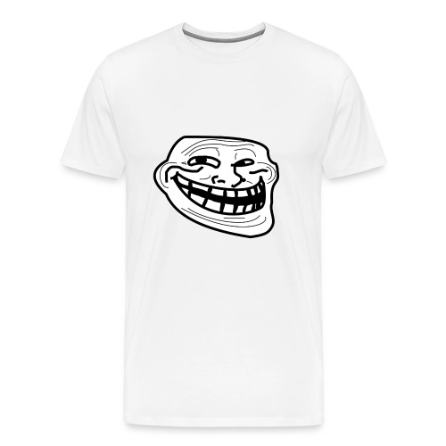 Troll Face short sleeved shirt - Men's Premium T-Shirt
